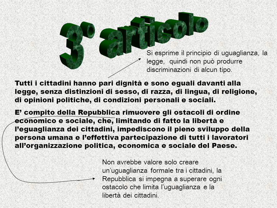 La Repubblica riconosce a tutti i cittadini il diritto al lavoro e promuove le condizioni che rendano effettivo questo diritto.