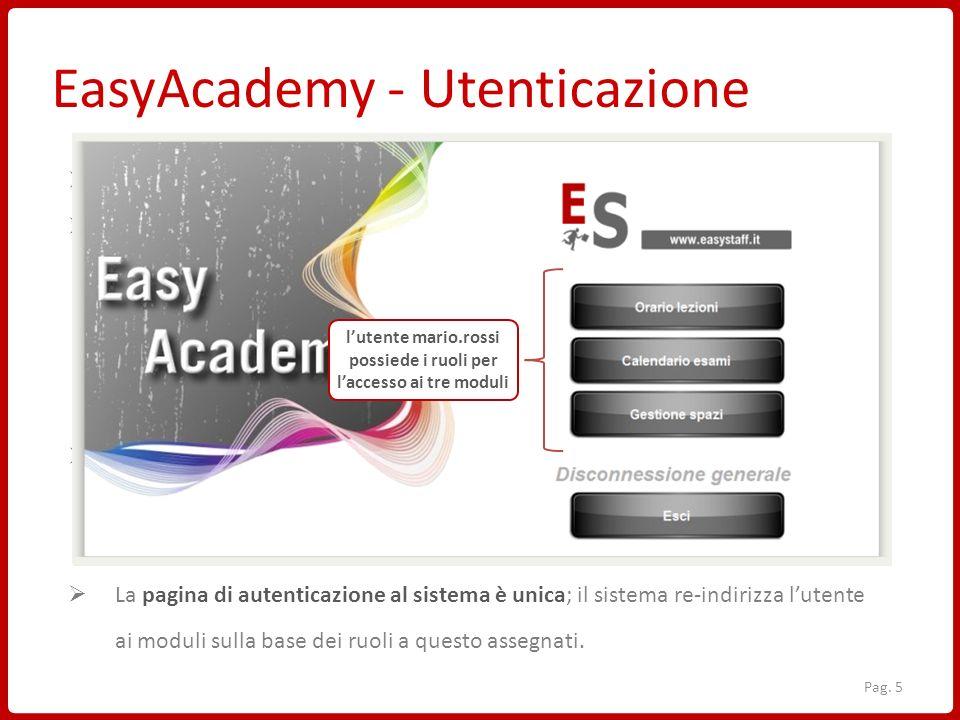 EasyAcademy - Utenticazione EasyAcademy è un sistema informatico web-based Per lavorare sul sistema EasyAcademy è necessario: PC o Tablet connesso all