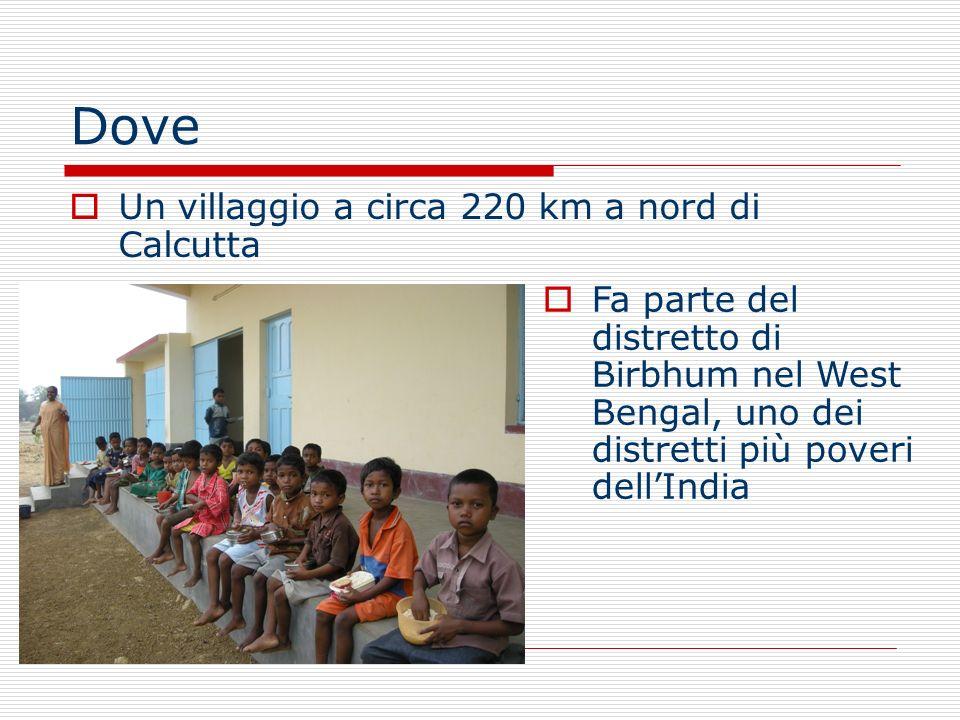 Perchè Ad oggi cè nel villaggio una scuola inglese frequentata da circa 160 bambini che ha come scopo quello di garantire laccesso allistruzione per i bambini e allalfabetizzazione degli adulti.