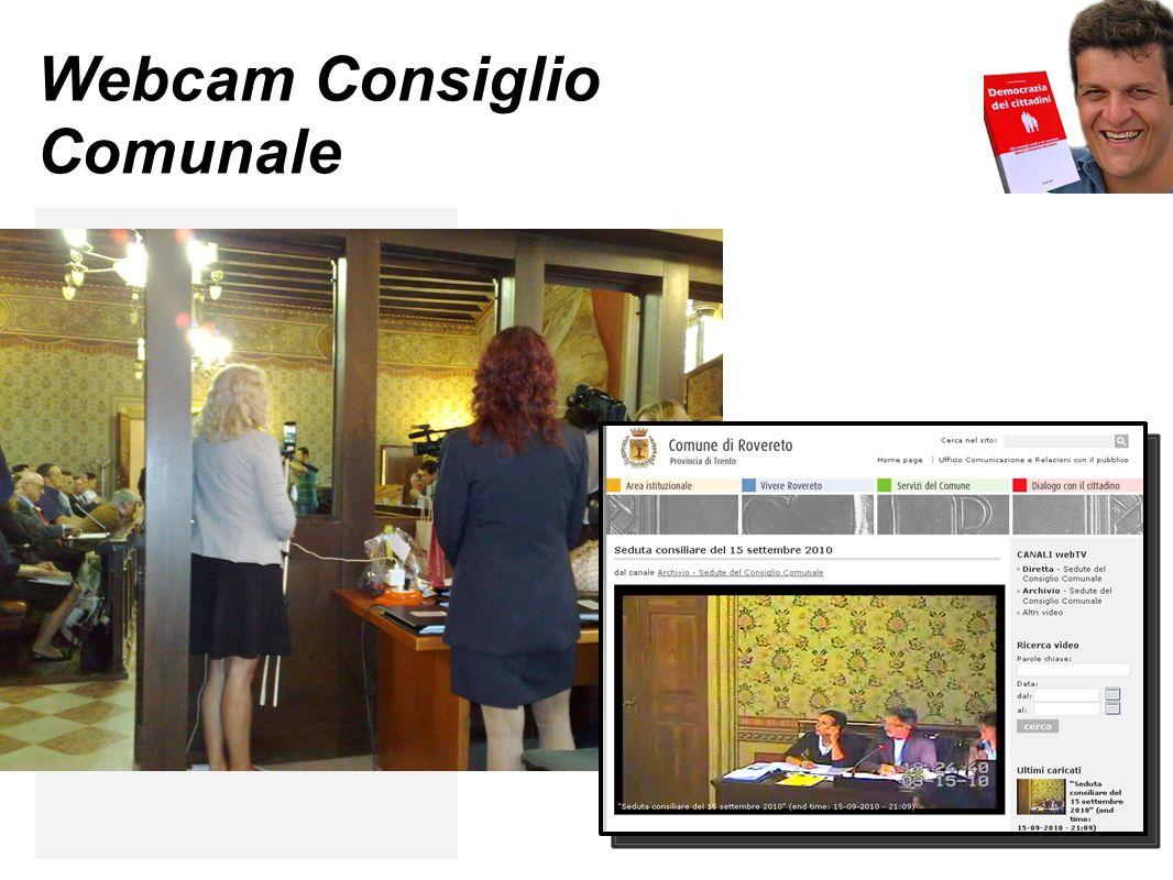 Webcam Consiglio Comunale