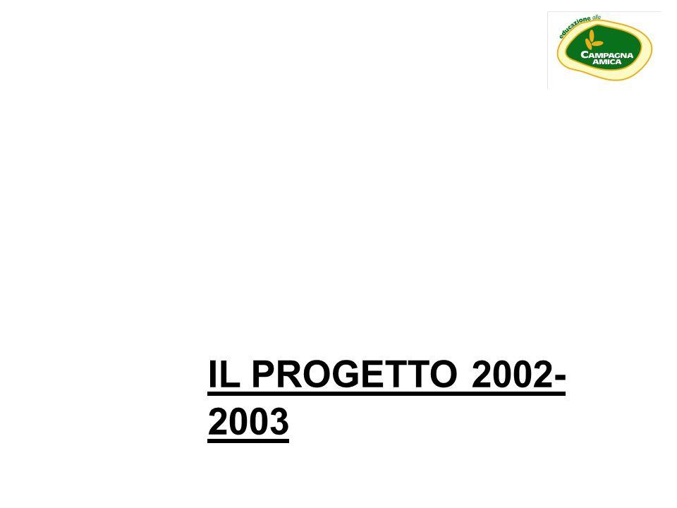 IL PROGETTO 2002- 2003