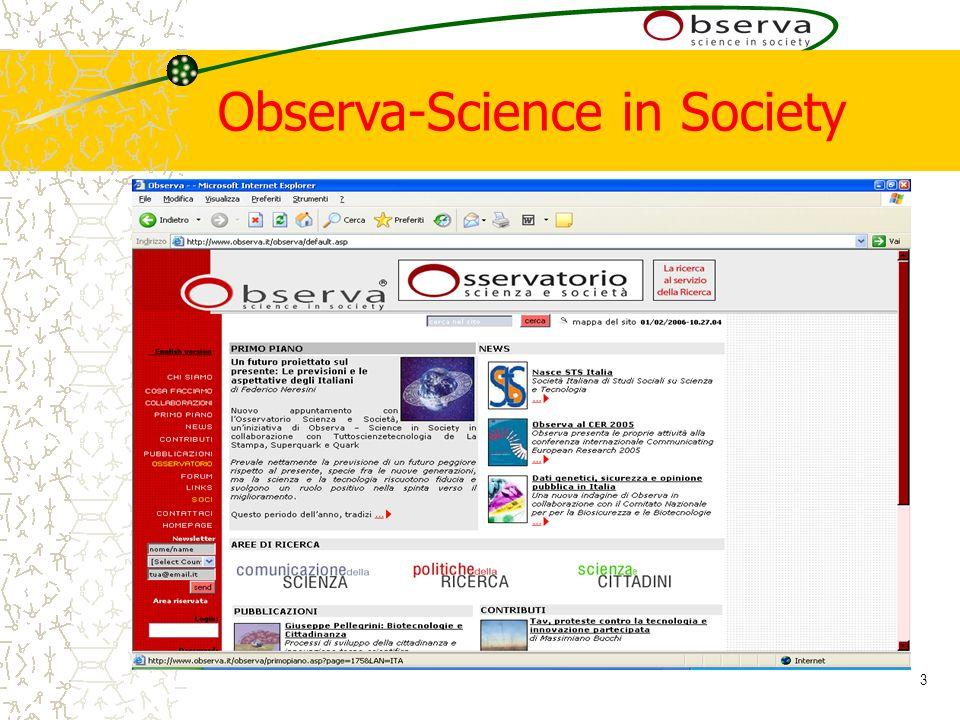 3 Observa-Science in Society