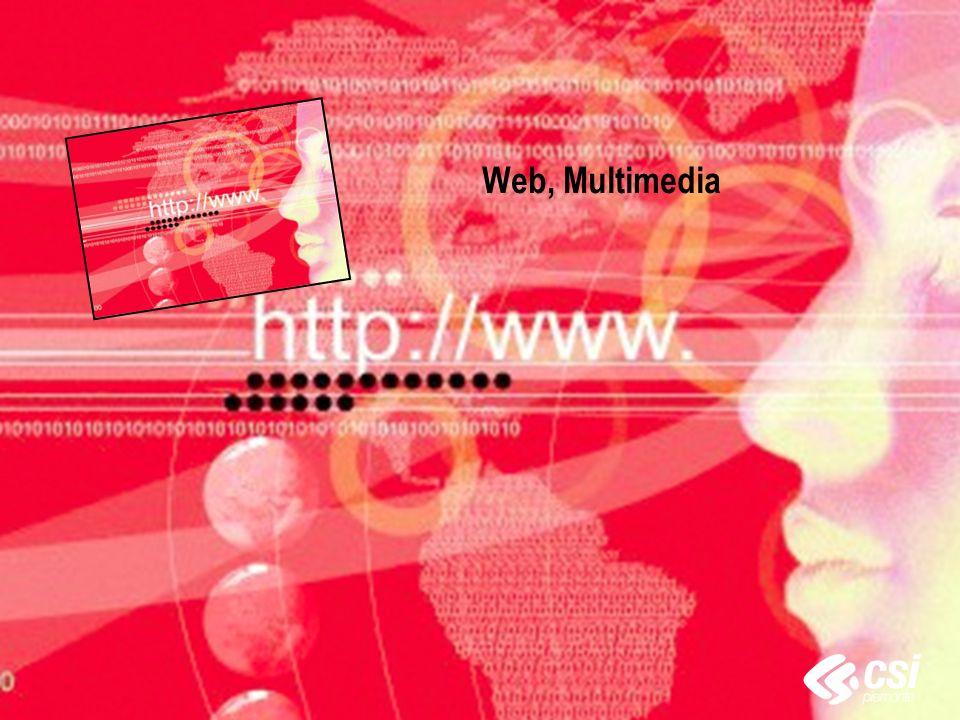 Web, Multimedia