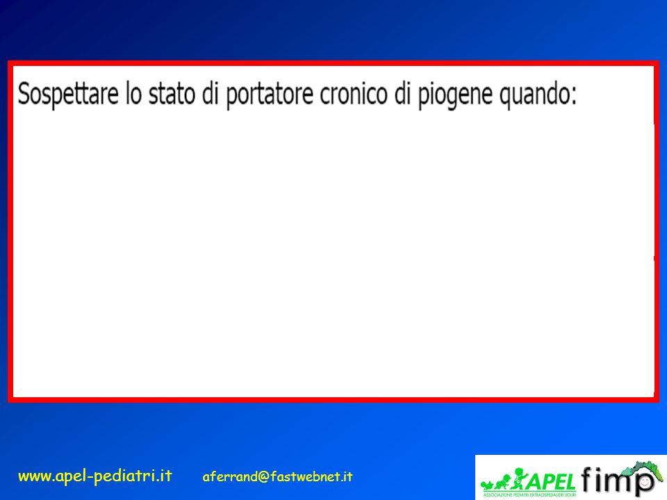 www.apel-pediatri.it aferrand@fastwebnet.it