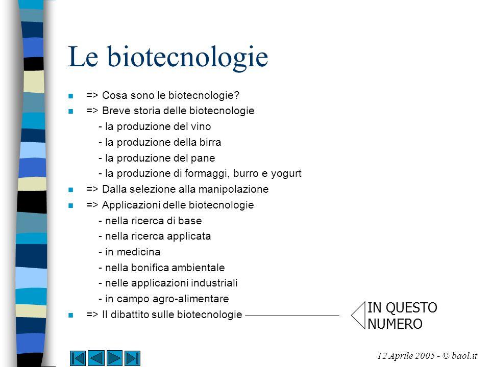 Il dibattito sulle biotecnologie n In assenza di informazione corretta accade quindi nel nostro paese che la maggior parte del pubblico spesso non sa cosa siano le piante GM, come si producono, quali sono i reali vantaggi ed i reali rischi connessi al loro utilizzo.