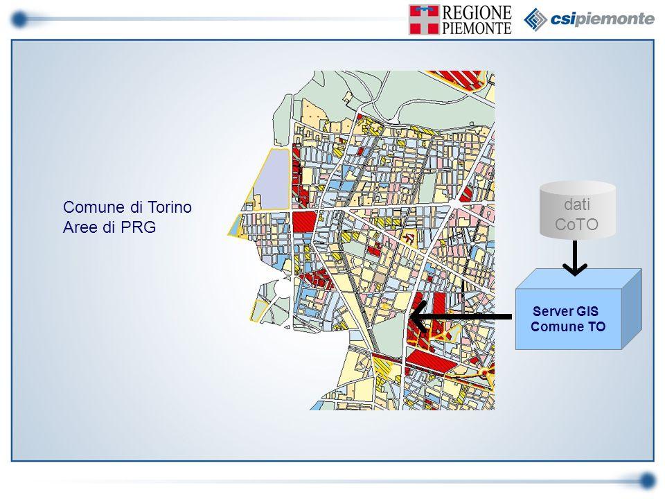 dati CoTO Server GIS Comune TO Comune di Torino Aree di PRG