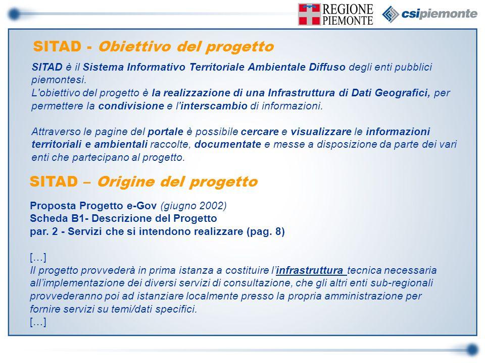 Proposta Progetto e-Gov (giugno 2002) Scheda B1- Descrizione del Progetto par. 2 - Servizi che si intendono realizzare (pag. 8) […] Il progetto provve