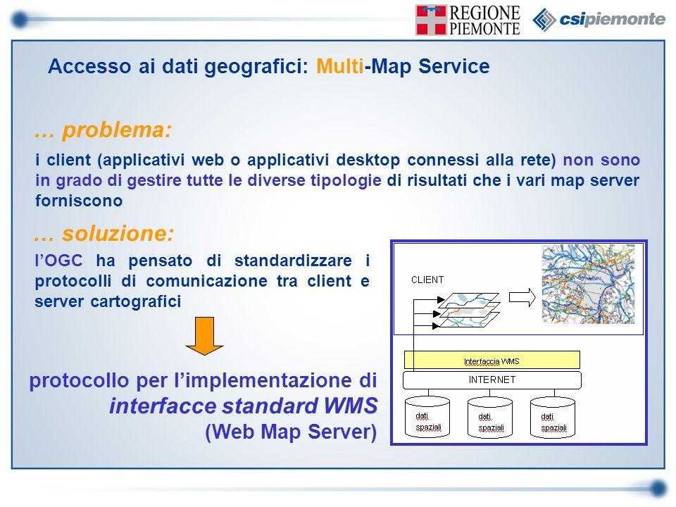 … problema: i client (applicativi web o applicativi desktop connessi alla rete) non sono in grado di gestire tutte le diverse tipologie di risultati c