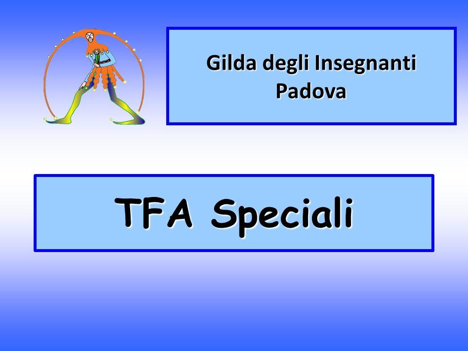 TFA Speciali Gilda degli Insegnanti Padova