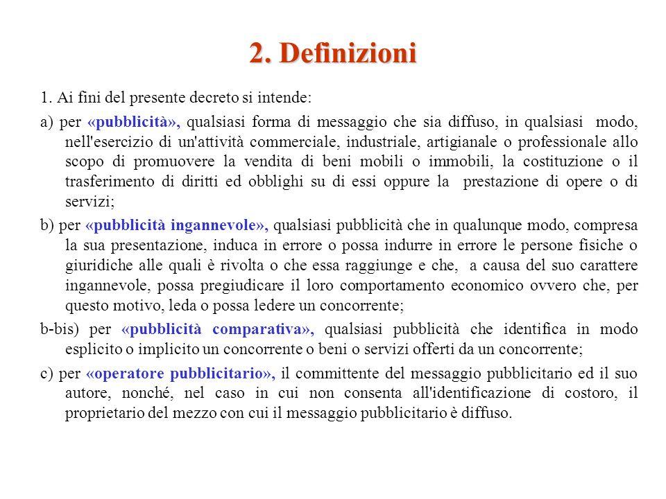 2. Definizioni 1.
