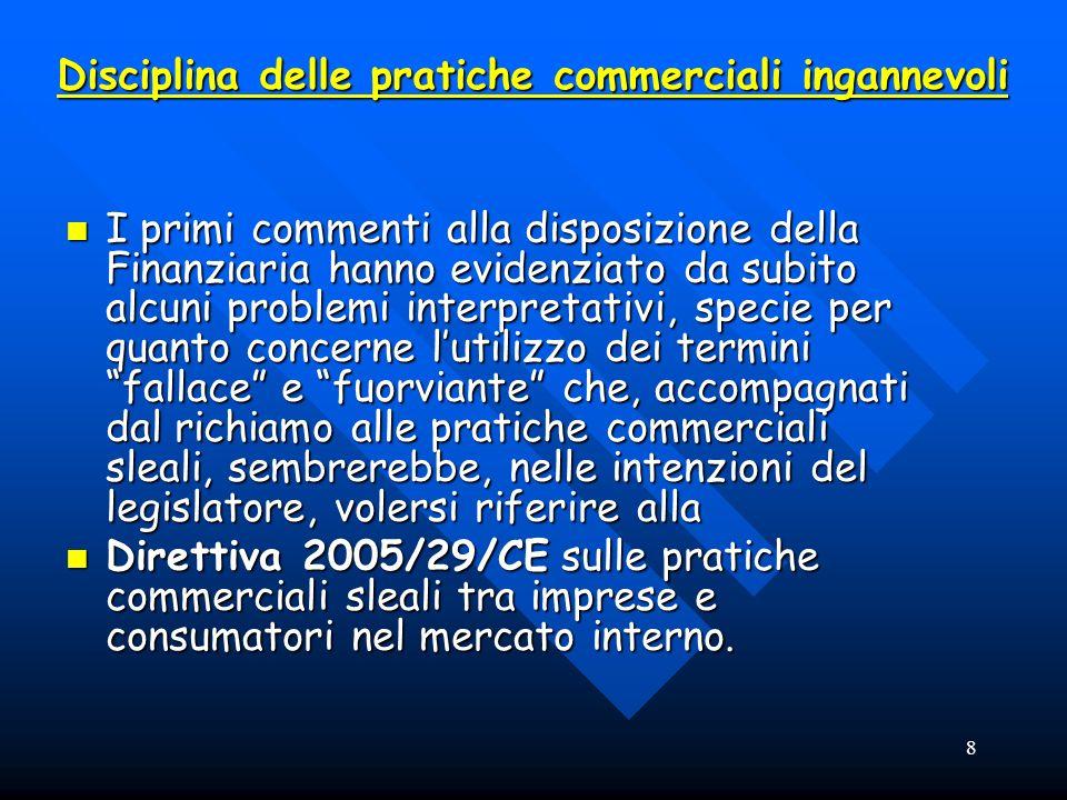 9 LA NORMATIVA Direttiva 2001/29/CE sullarmonizzazione di taluni aspetti del diritto dautore e dei diritti connessi nella società dellinformazione-Decreto legislativo 9 aprile 2003 n.