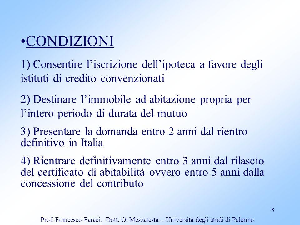 6 Interventi creditizi per attività produttive (art.15 L.R.55/80; artt.17 e 18 L.R.38/84; art.19 L.R.