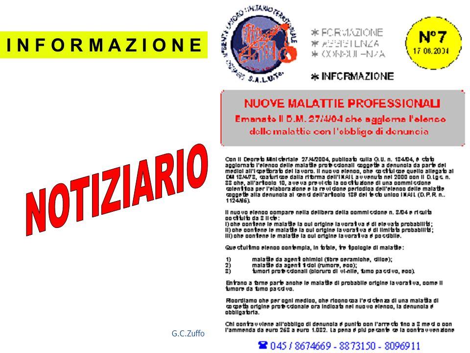 G.C.Zuffo 39 I N F O R M A Z I O N E