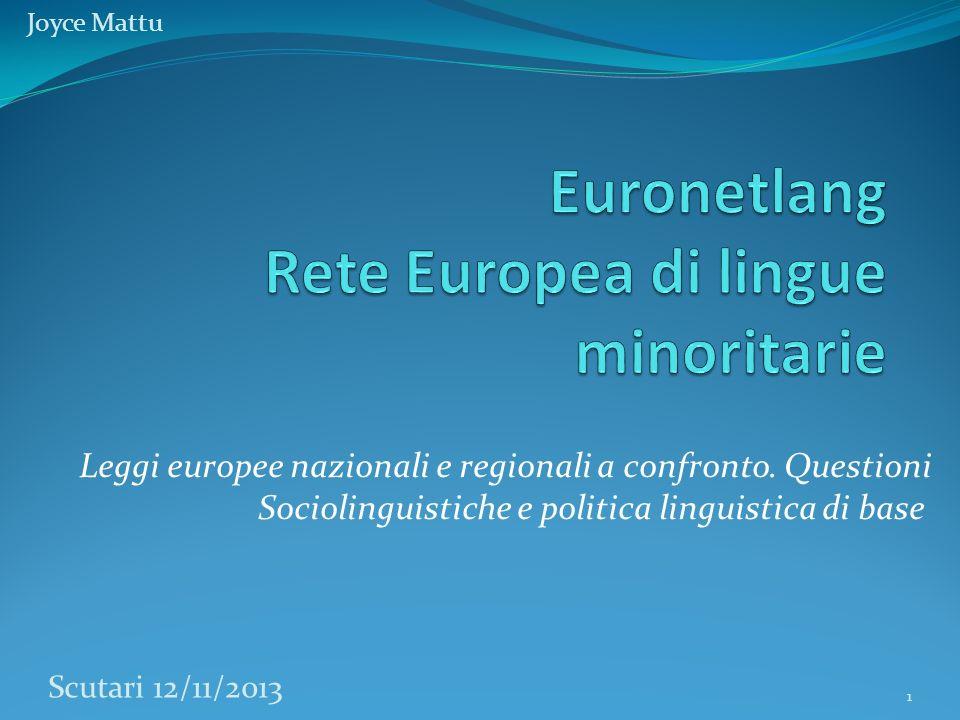 Leggi europee nazionali e regionali a confronto.