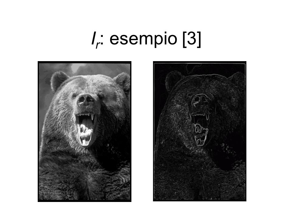 I r : esempio [3]