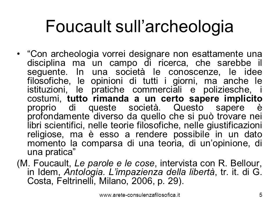 La genealogia La dimensione genealogica del metodo foucaultiano attinge a Nietzsche.