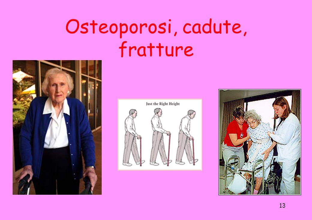 13 Osteoporosi, cadute, fratture