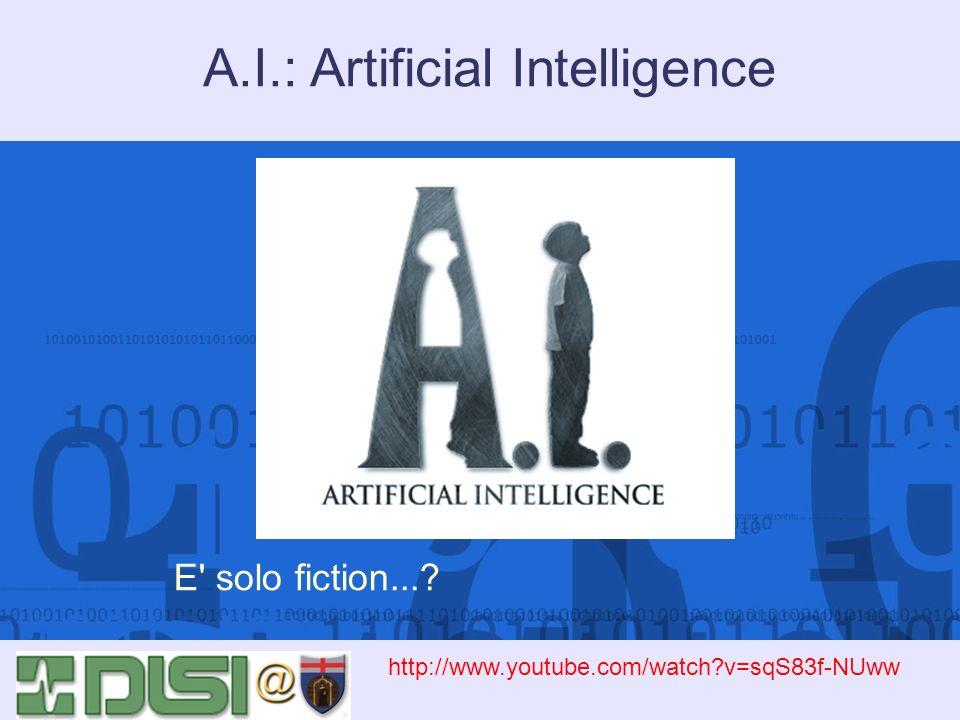 Applicazioni dell IA La pianificazione autonoma di attività e operazioni è larea che maggiormente interessa la produzione industriale e la logistica, ma anche il controllo di sonde spaziali.