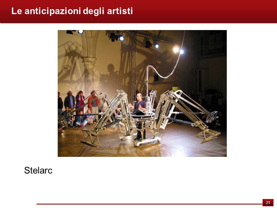 21 Le anticipazioni degli artisti Stelarc