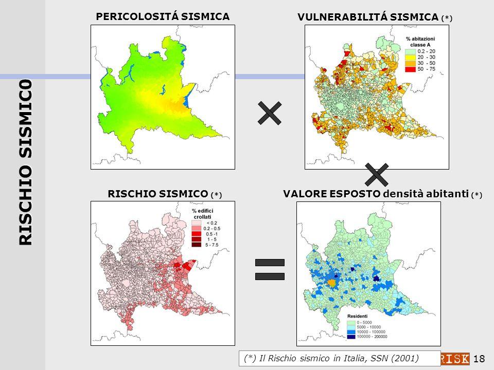 17 PERICOLOSITÁ Area Garda (*) (*) Progetto DPC-INGV 2004-06: S3 – Scenari di scuotimento in aree di interesse prioritario e/o strategico 24 Novembre