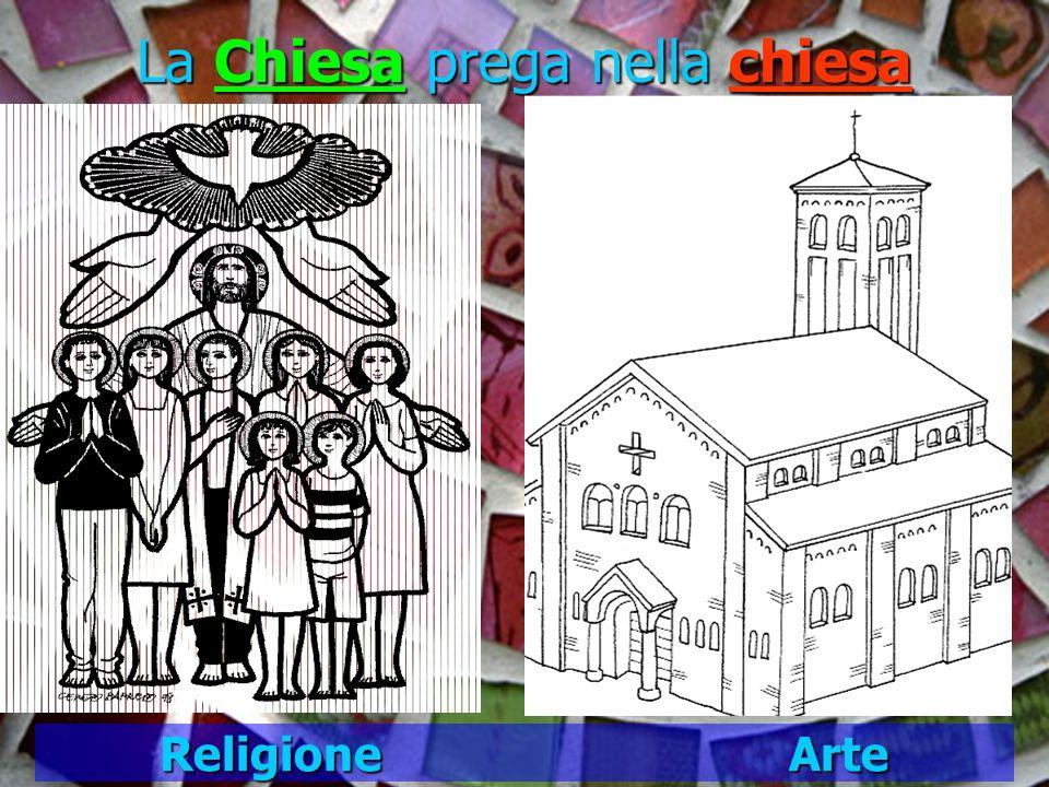 La Chiesa prega nella chiesa Religione Arte