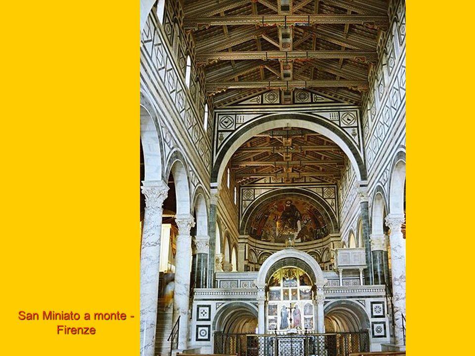 San Miniato a monte - Firenze