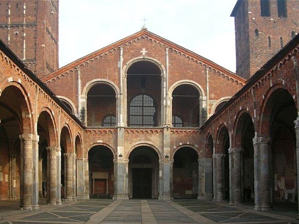Quadriportico S. Ambrogio – Milano S. Ambrogio – Milano http://milan.arounder.com/it/chiese/chiesa-di-sant-ambrogio/sant-ambrogio- basilica-quadriport