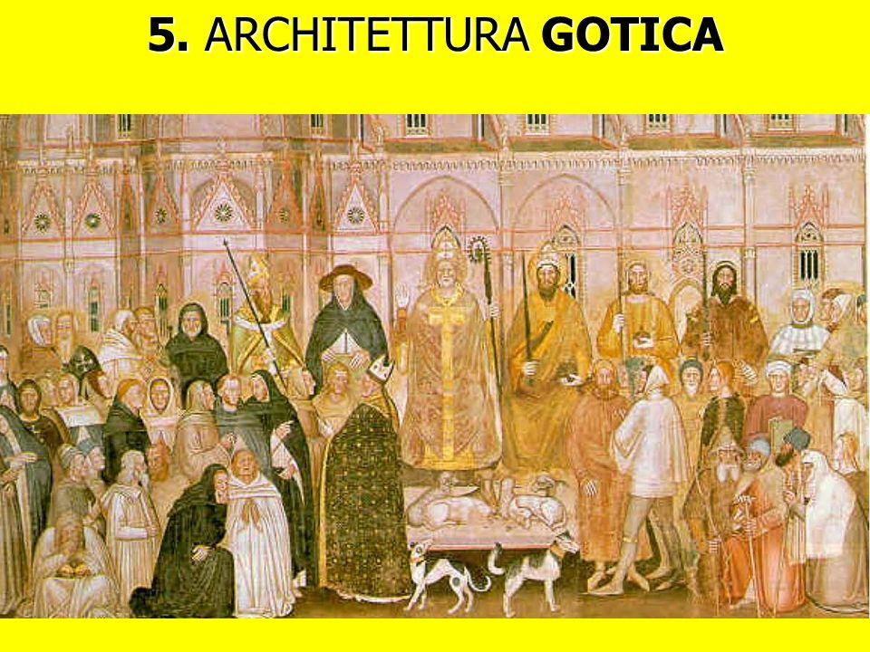5. ARCHITETTURA GOTICA