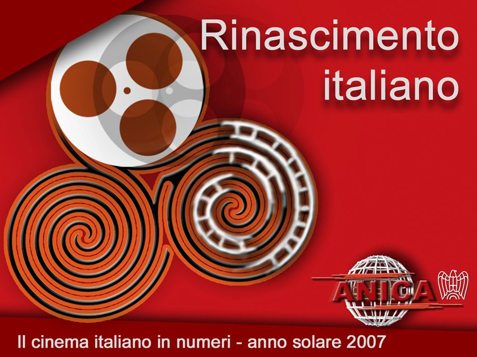 ESERCIZIO Fonte: ANEM su dati Cinetel Tab. 2 – Tutti i film: incasso e presenze 2007 vs 2006 19