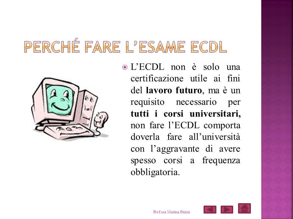 LECDL non è solo una certificazione utile ai fini del lavoro futuro, ma è un requisito necessario per tutti i corsi universitari, non fare lECDL compo