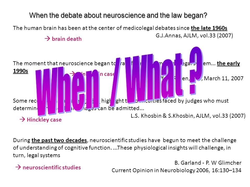 ... 2004 2006 Vol.33, 2-3, 2007 BRAIN IMAGING AND THE LAW