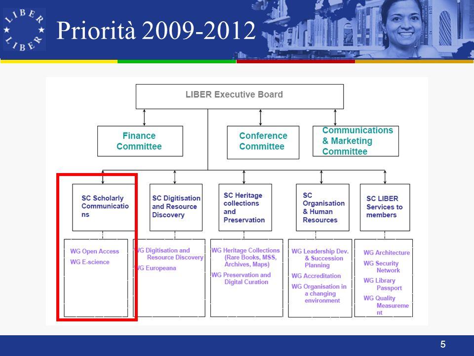 5 Priorità 2009-2012