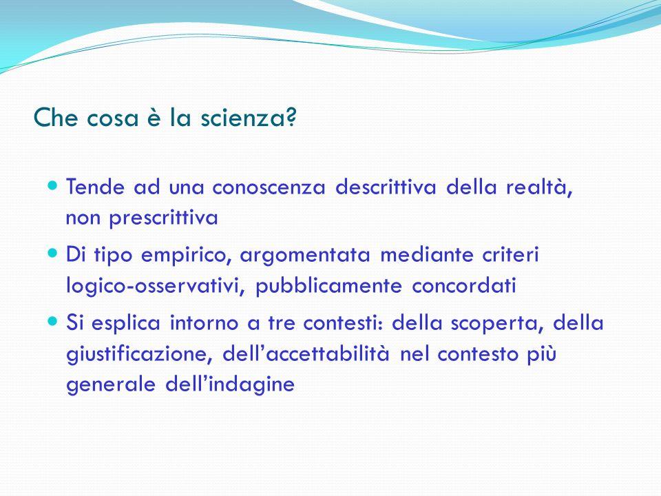 Problemi nellapplicazione del concetto di paradigma in Sociologia Sociologia come scienza: Paradigmatica Pre-paradigmatica Multi-paradigmatica
