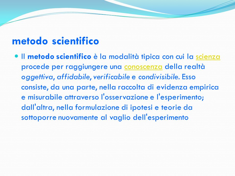 La logica della ricerca scientifica Un posto centrale nella moderna filosofia della scienza è occupato dall epistemologia.