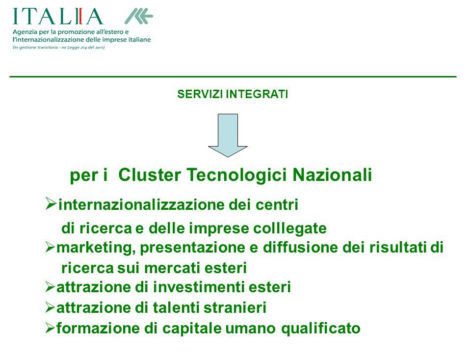 Partner Istituzionale per le imprese italiane e straniere