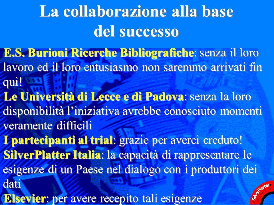 La collaborazione alla base del successo E.S.