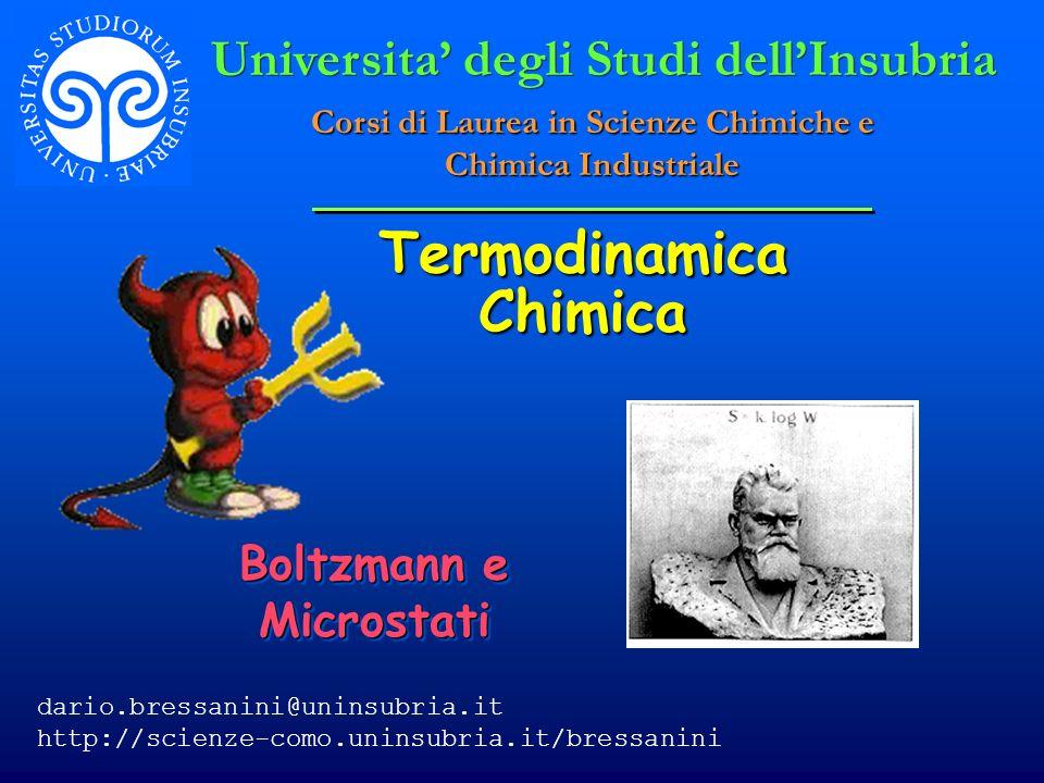 © Dario Bressanini La seconda legge puo essere espressa in molti modi.