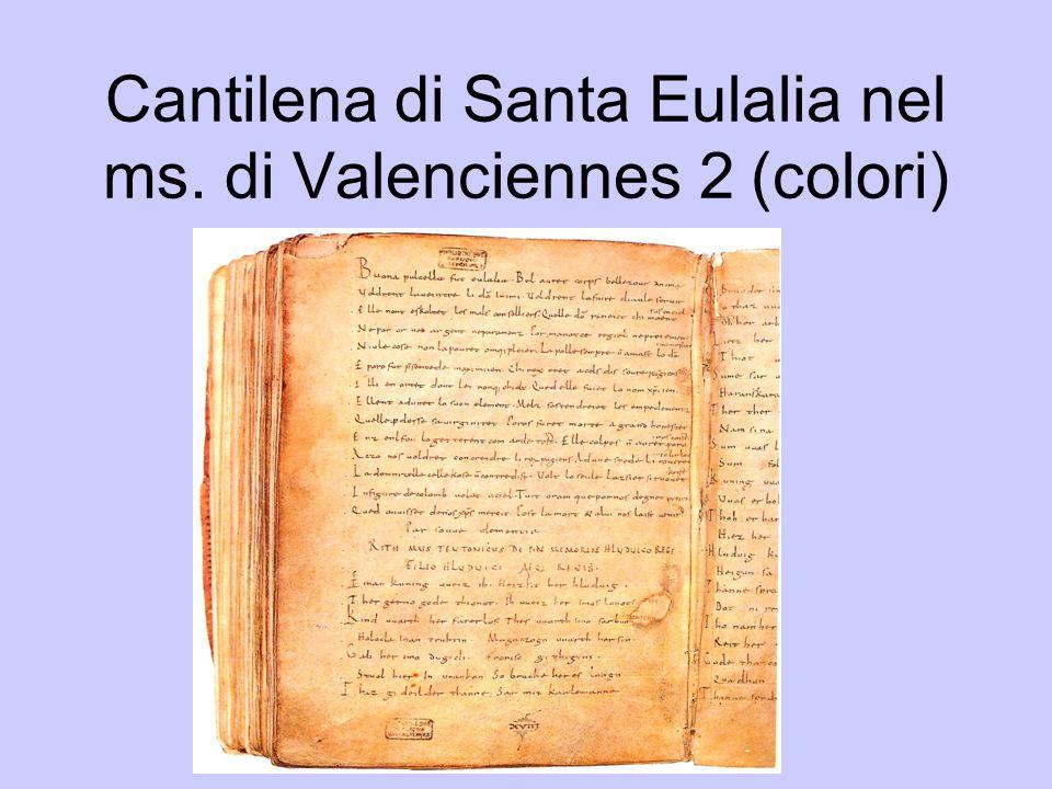 introduzione Sequenza di Sant Eulalia, ca.