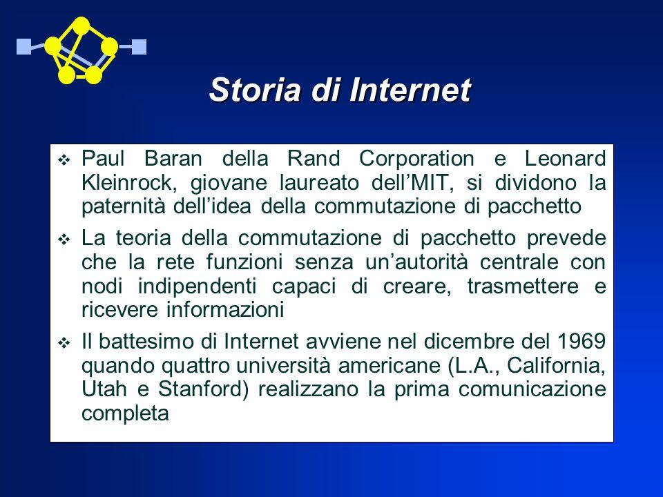 Il web consente anche di richiamare programmi e accedere a basi di dati.