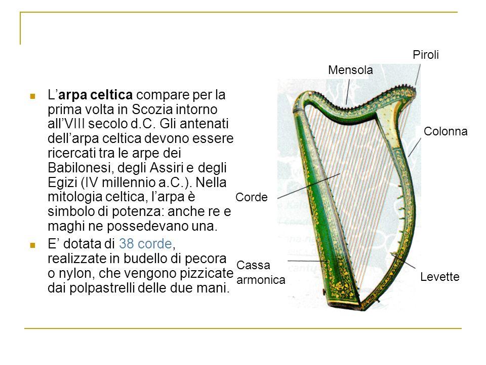 Per il popolo irlandese, larpa celtica è, dopo la bandiera, il simbolo nazionale.