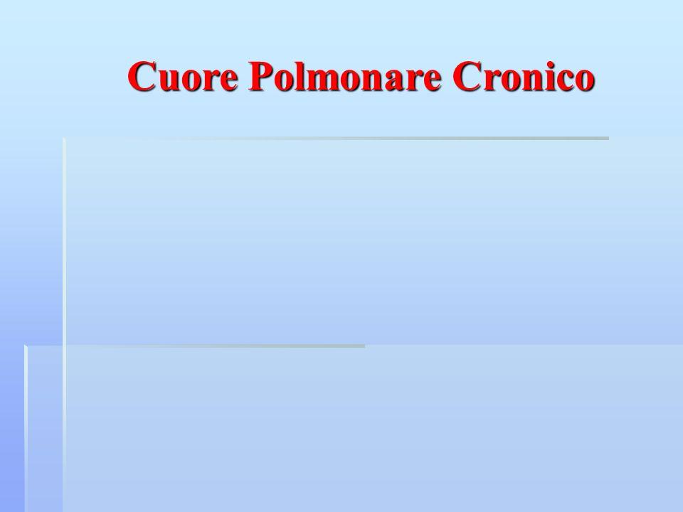 Cuore Polmonare Cronico