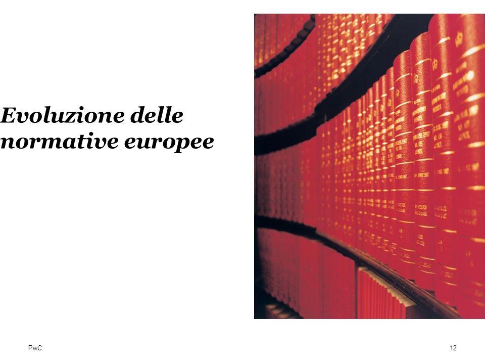 PwC Evoluzione delle normative europee 12
