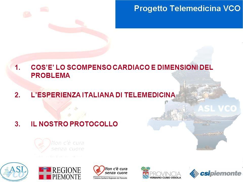 LESPERIENZA ITALIANA DI GESTIONE DOMICILIARE INTEGRATA DELLO SCOMPENSO CARDIACO Progetto ICAROS Italian Heart Journal Vol.