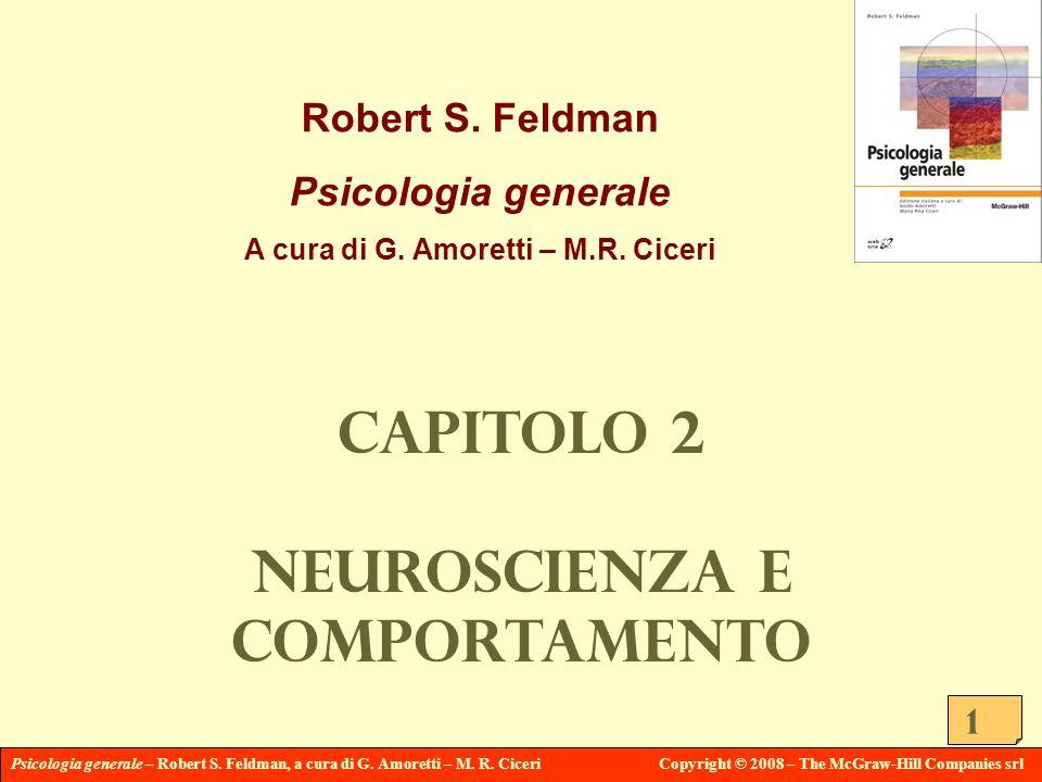 Psicologia generale – Robert S. Feldman, a cura di G. Amoretti – M. R. CiceriCopyright © 2008 – The McGraw-Hill Companies srl 1 Robert S. Feldman Psic