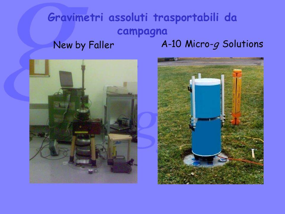 A-10 Micro-g Solutions Gravimetri assoluti trasportabili da campagna New by Faller