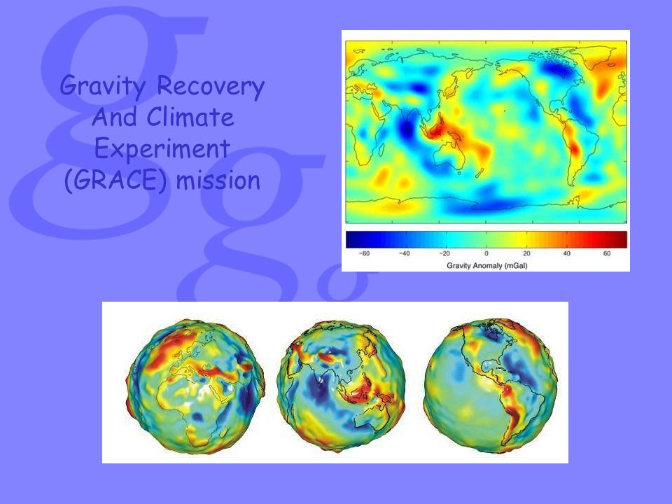 ESA s gravity mission GOCE Gravity Field and Steady-State Ocean Circulation Explorer(GOCE) È dedicato alla misura del campo gravitazionale terrestre e alla modellizzazione del geoide con estrema accuratezza e risoluzione spaziale.