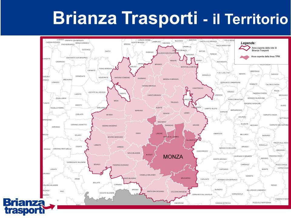 Brianza Trasporti - il Territorio