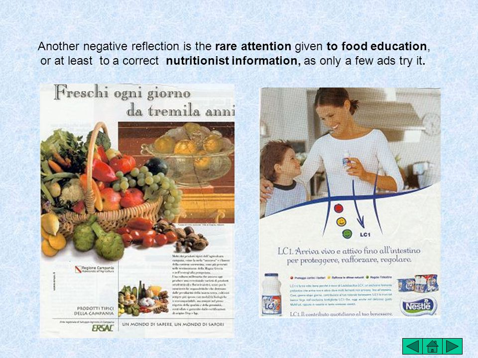 The ads concerning the petscanned food is sometime a little exaggerated and quite offensive for the world starvation.