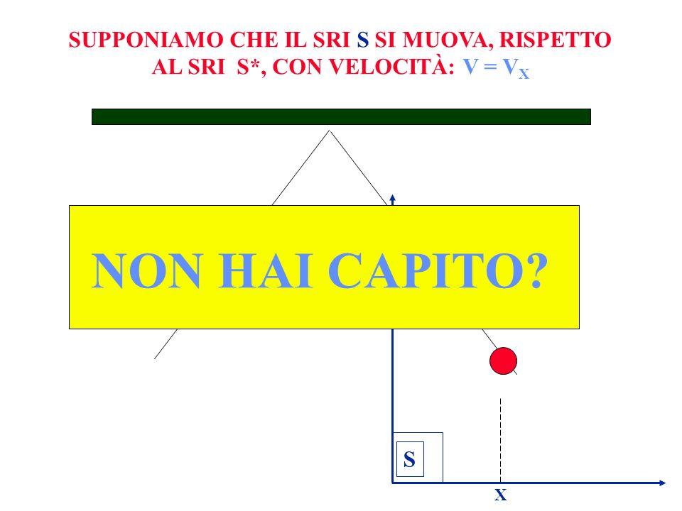 S X NON HAI CAPITO