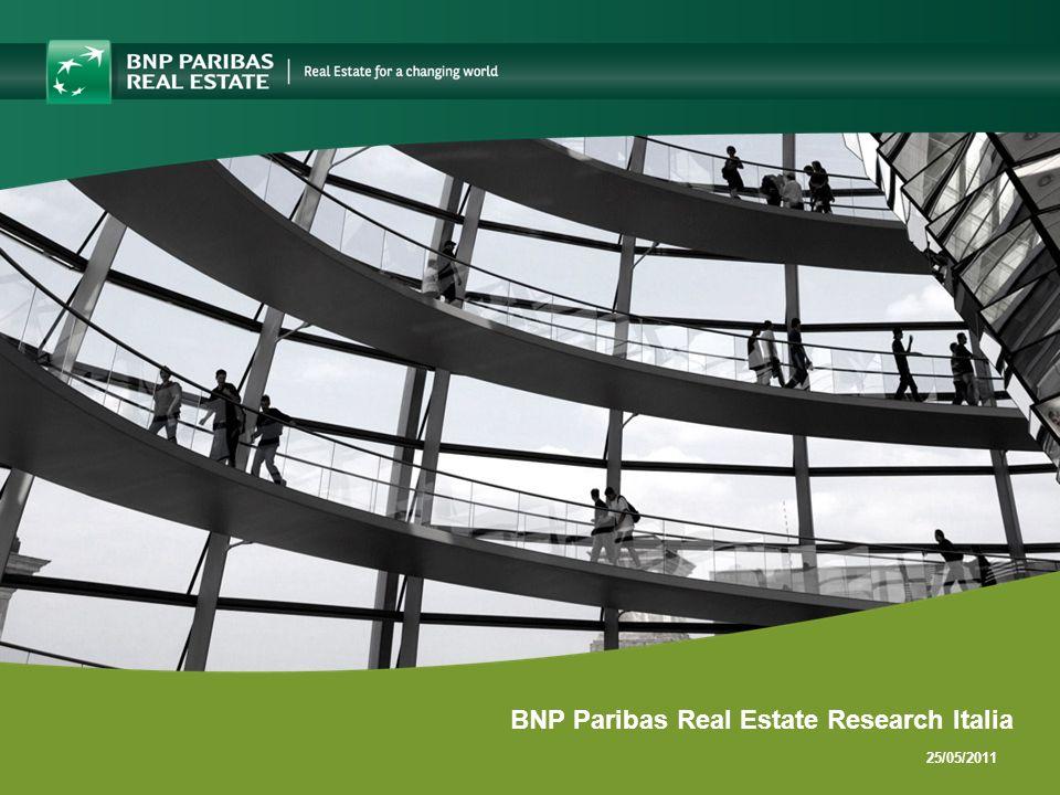25/05/2011 BNP Paribas Real Estate Research Italia